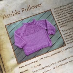 Amble Pullover Pattern