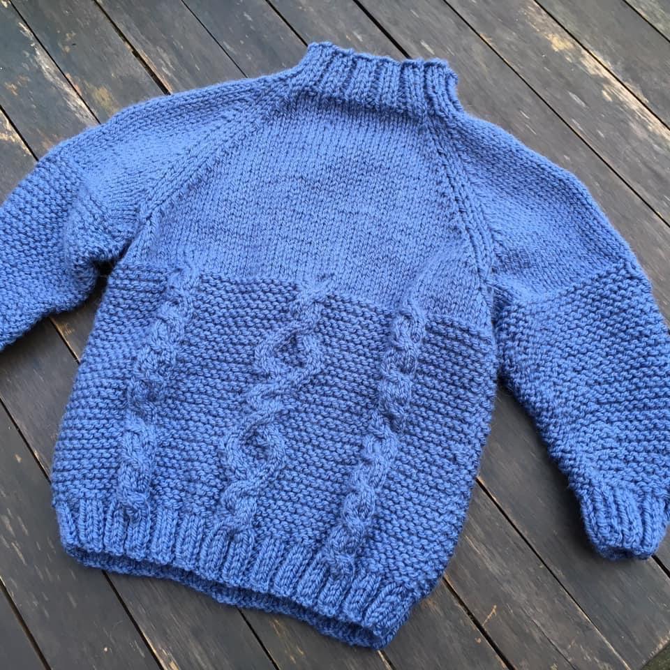 Megstone Jumper in Blue (2-3 years)